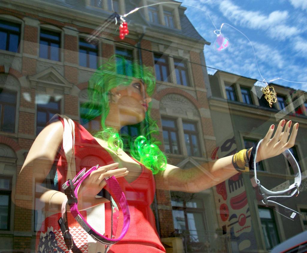 Schaufenster in der Dresdner Neustadt